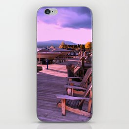 Afternoon On The Dock iPhone Skin