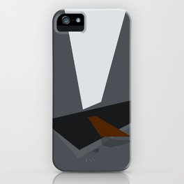 Somber Procrastination iPhone Case