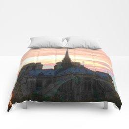 Notre Dame de Paris Comforters