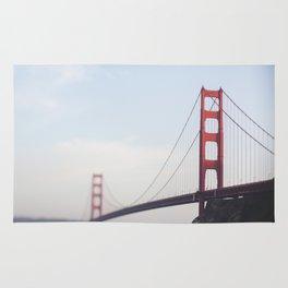 Golden Gate at dusk Rug