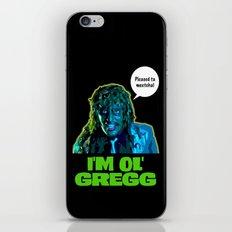 Old Gregg iPhone & iPod Skin