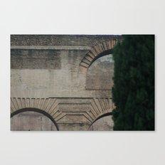 Roman Arches Canvas Print