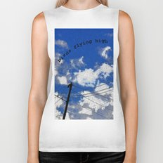 Birds Flying High Biker Tank