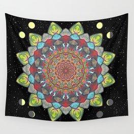SUN MOON MANDALA Wall Tapestry