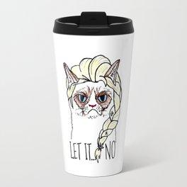Grumpys Cat Elsa Travel Mug