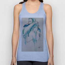 Twig and Ink Series #73 Unisex Tank Top