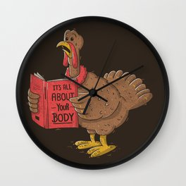It's All About Your Body Wall Clock