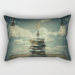 switch on your mind Rectangular Pillow