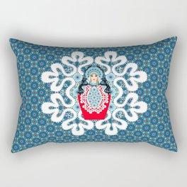 Little Matryoshka Rectangular Pillow