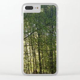Forrest Everywhere Clear iPhone Case