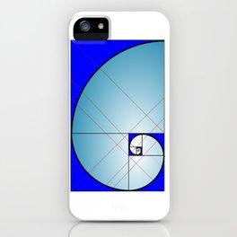 Logarithmic Spiral iPhone Case