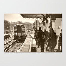 Wareham Commute Canvas Print