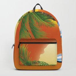 Hammock & Setting sun Backpack