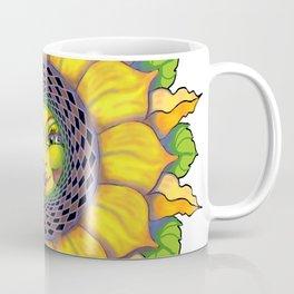 Sunflower Sunshine Girl by Amanda Martinson Coffee Mug