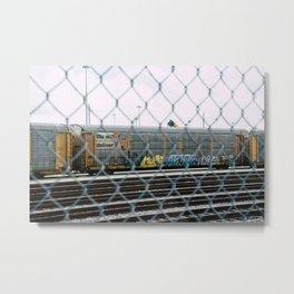 Chain Linked Metal Print