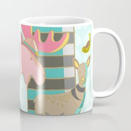 A Pink Moose Coffee Mug