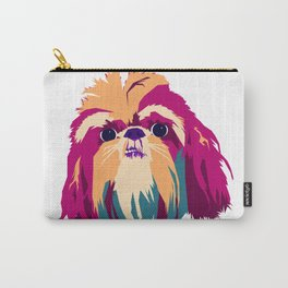 Shih Tzu Face Carry-All Pouch