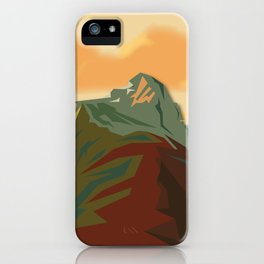 Night Mountains No. 44 iPhone Case