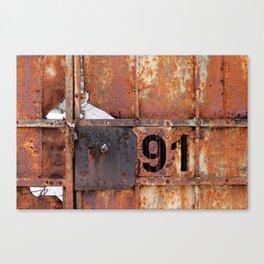 Rusty91 Canvas Print