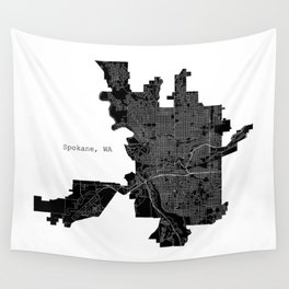 Spokane, WA Wall Tapestry