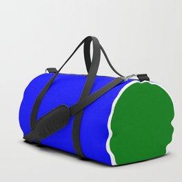 TEAM COLORS 10...BLUE,GREEN Duffle Bag