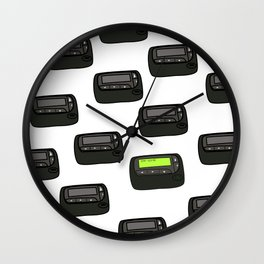 Hospital Pager - Stat Wall Clock