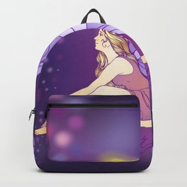 Purple Pixie Backpack