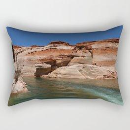 Antelope Canyon On Lake Powell Rectangular Pillow