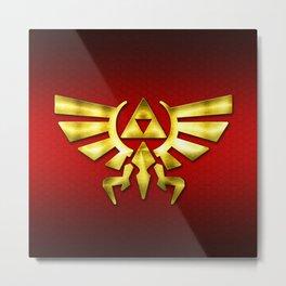 Link Zelda Metal Print