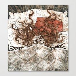 Mask centipede Canvas Print