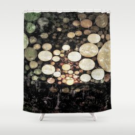 :: The Golden Hour :: Shower Curtain