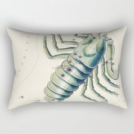(-1831) astronomical chart  of the Scorpio Rectangular Pillow