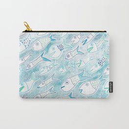 The Multiplication of the Fishes Carry-All Pouch