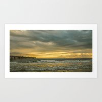 Sunrise Over the Atlantic Art Print