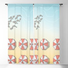 Early In The Morning #society6 #decor #buyart Blackout Curtain