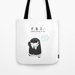 Federal Bueau of Ice Tote Bag