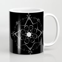 celestial Mugs featuring Celestial by Jess Duffy