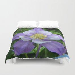 Columbine Flower 1 Duvet Cover