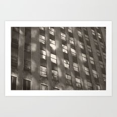 building reflection Art Print