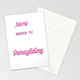 Many Grandma's Paragliding Paragliders Skydiving Parachuting Extreme Sports Gift Stationery Cards