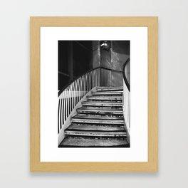 Urban stairs Framed Art Print