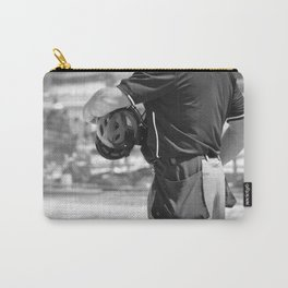 Umpire in Black and White Carry-All Pouch