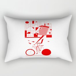 Bicycle I. Rectangular Pillow