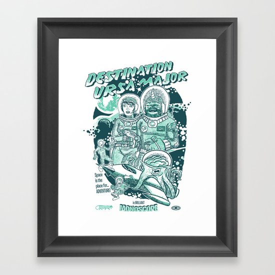 Destination Ursa Major s6 exclusive Framed Art Print