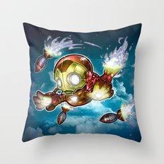 lil' Iron Dude Throw Pillow