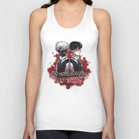 tokyo ghoul Tank Tops featuring Tokyo Ghoul TRAGEDY  by lilbutt