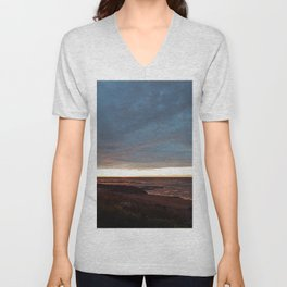 The View Under the Storm Unisex V-Neck