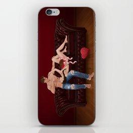 chesterfield & chocolate iPhone Skin