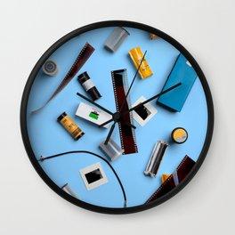 Still Life #4: Blue Wall Clock