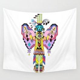 Kachina Butterfy 7 Wall Tapestry